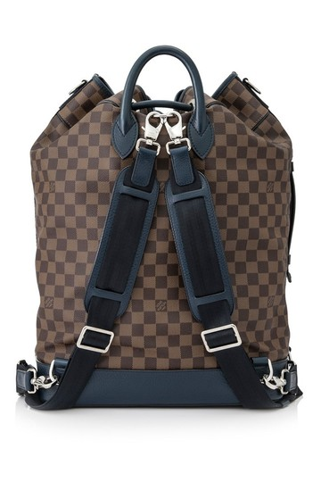 Louis Vuitton Sac Marine Carryall Keepall Virgil Limited Backpack Image 5