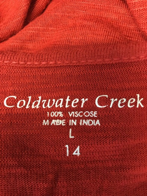 Coldwater Creek Top Red Image 3