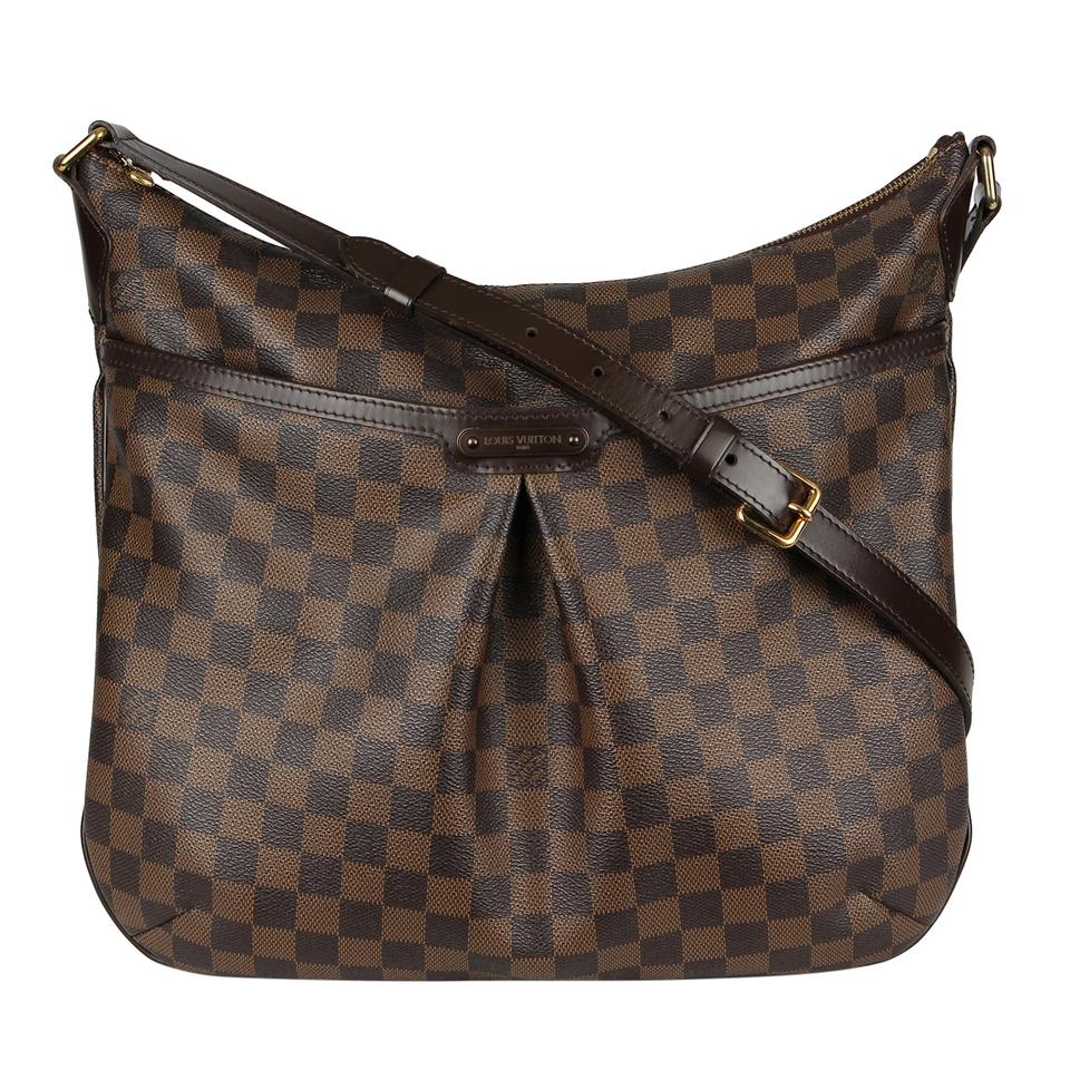 b4689781bd2d Louis Vuitton Damier Canvas Checkered Leather Bloomsbury Gm Cross Body Bag  Image 0 ...