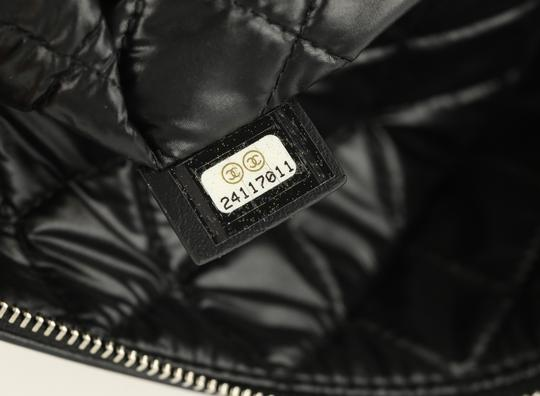 Chanel Pouch Leather Black Clutch Image 10