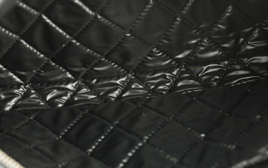 Chanel Pouch Leather Black Clutch Image 8