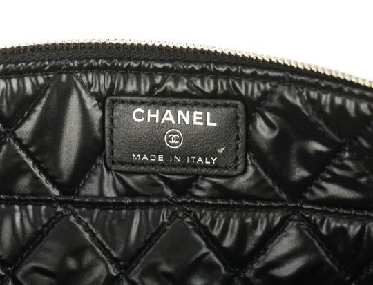 Chanel Pouch Leather Black Clutch Image 9