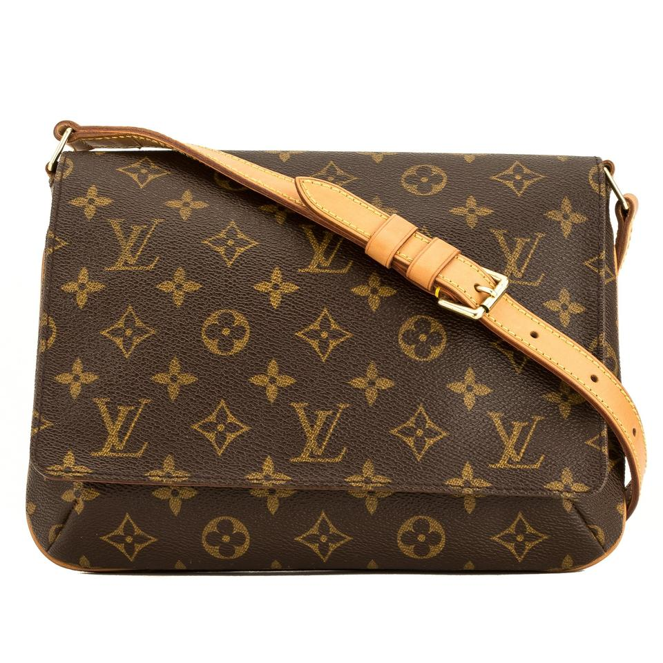 2024714bb854 Louis Vuitton Musette Tango Short Strap 4053035 Brown Monogram ...