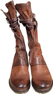 AS 98 Leather cognac Boots