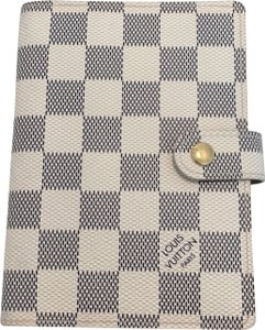Louis Vuitton Louis Vuitton Damier Azur Small Ring Agenda