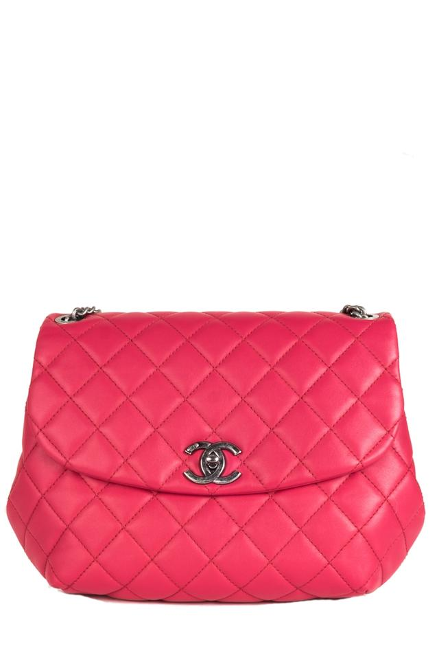 0cf3b22b29d1 Chanel Classic Flap Daily Supple 995.95 400 Pink Lambskin Leather Shoulder  Bag