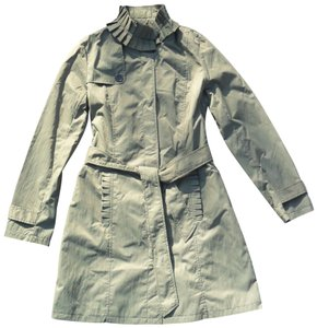 A.B.S. by Allen Schwartz Army Pleated Small Green Jacket