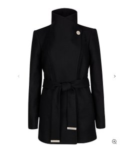 5afb17e654 Ted Baker Wool Wrap Wrap Classy Elegant Trench Coat