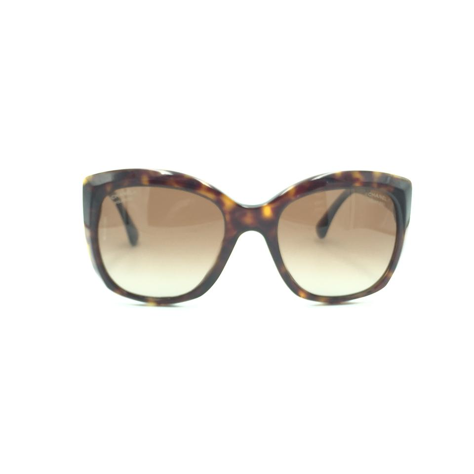 473535825c2b Chanel Tortoise Polarized Butterfly Gold Tweed Sunglasses 5347 714 S9 Image  0 ...