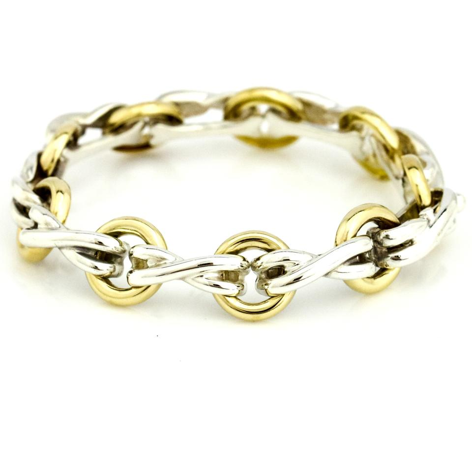cd08bf7c2 Tiffany & Co. Tiffany & Co. Paloma Picasso 18k Gold Sterling Silver Vintage  Bracelet ...