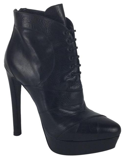 Item - Black Laced Ankle Boot Platforms Size EU 38 (Approx. US 8) Regular (M, B)