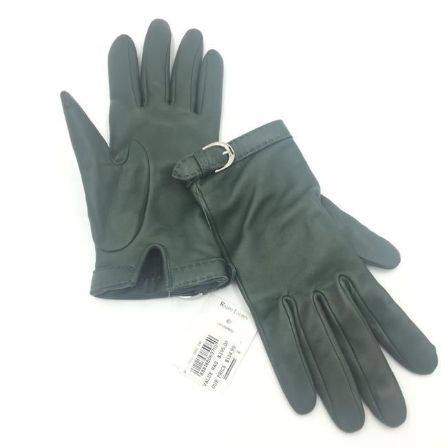 Item - Green Leathered Gloves 4650/ 01072