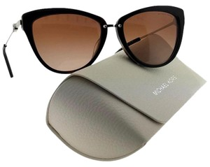 c0780e09fa0dc Michael Kors MK6039F-314513-56 Cat Eye Women Havana Frame Brown Lens  Sunglasses