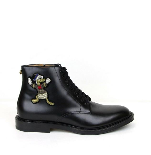 Gucci Black W Leather Ankle Boots W