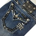 Miss Me Blue Distressed Boot Cut Jeans Size 29 (6, M) Miss Me Blue Distressed Boot Cut Jeans Size 29 (6, M) Image 9