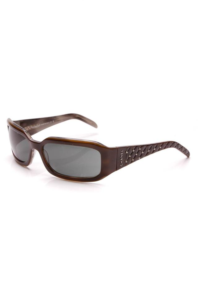 af082ed581 Chanel Chanel Quilted Sunglasses - 5097 Brown Image 0 ...