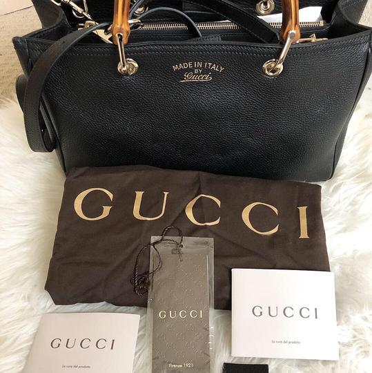 Gucci Satchel in Black Image 5