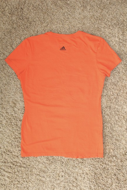 adidas T Shirt Orange Image 1