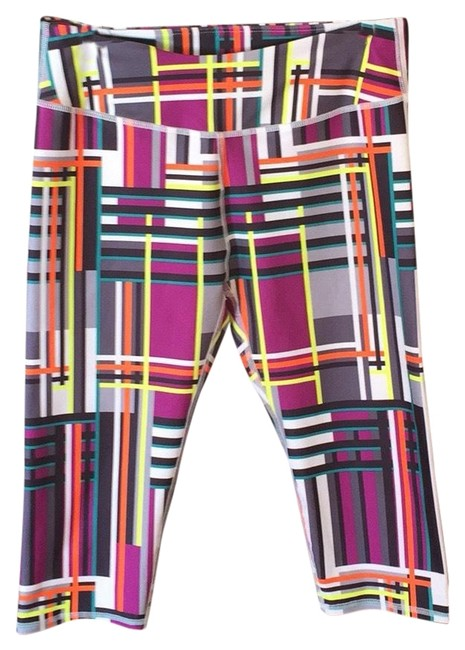 Item - Purple and Yellow Activewear Bottoms Size 8 (M)
