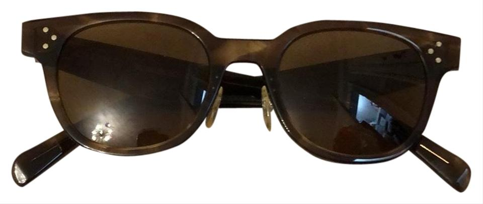 5c88f0970d0f Céline Brown with Some Golds Tint Cl 41459 Z15 145 Sunglasses - Tradesy