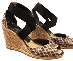Jean-Michel Cazabat black/ natural Wedges