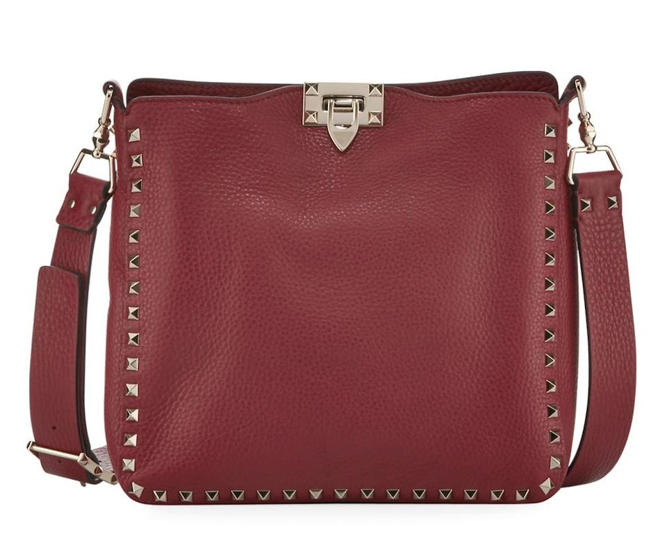 c89df34056 Valentino Rockstud Studded Classic Shoulder Cross Body Bag Image 0 ...