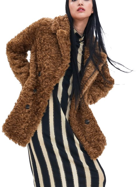 Item - Brown New with Tags Faux Wrap Coat Size 12 (L)