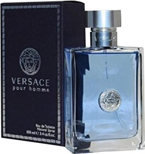Versace VERSACE HOMME 3.4 oz/100 ml EDT Spary New In Box.