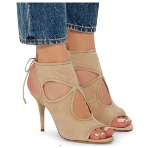 Aquazzura Nude Sandals