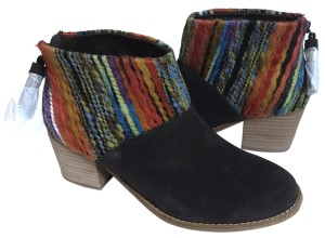 7bb84a3ee54 TOMS Oxblood Avery Crepe Wedge Boo Boots Booties.  42.63  68.96. US 8. On  Sale. TOMS Brown Boots