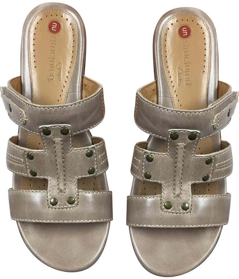 Clarks New Unstructured Sandals Size US 8 Regular (M