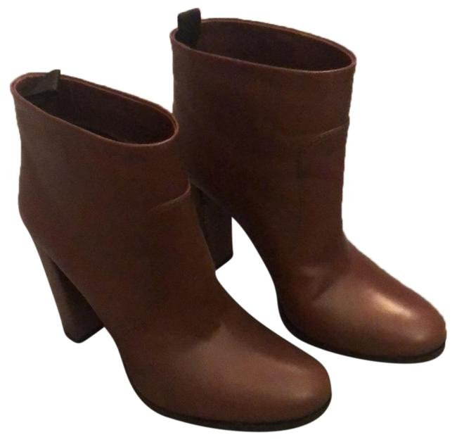 Prada Brown Leather Boots/Booties Size EU 38.5 (Approx. US 8.5) Regular (M, B) Prada Brown Leather Boots/Booties Size EU 38.5 (Approx. US 8.5) Regular (M, B) Image 1
