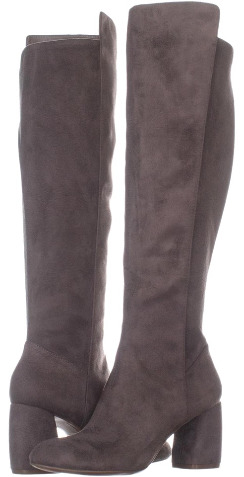 6a2b72b34e9 Naturalizer Grey Dane Wide Calf Knee High 296   37.5 Eu Boots Booties