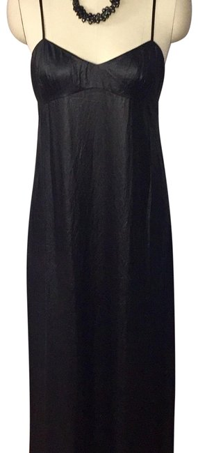 Item - Black Deanne Long Night Out Dress Size 8 (M)