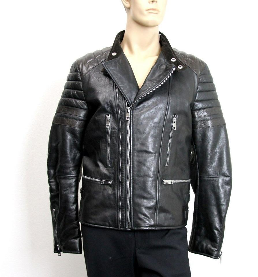 4481d0318 Gucci Mens Black Leather Jacket - Nils Stucki Kieferorthopäde