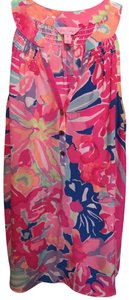 Lilly Pulitzer Top Pink Multi