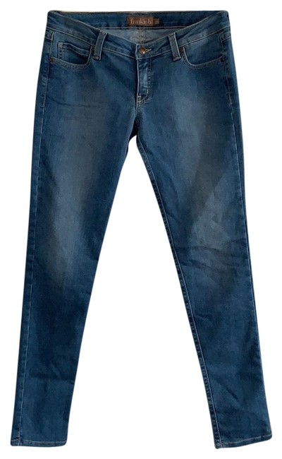 Item - Light To Mid Rinse Medium Wash Cut #506133 Style #459d21147hc Skinny Jeans Size 6 (S, 28)