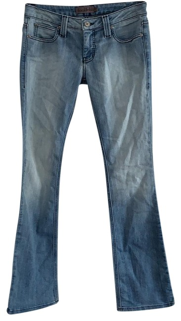 Item - Light Wash with Intentional Fading #505893 Style #441d21639 Boot Cut Jeans Size 4 (S, 27)