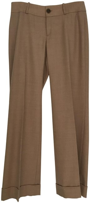 Item - Tan New Wool Trouser/Pants with Cuffs Lined Pants Size 8 (M, 29, 30)