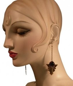 Other Dramatic Vintage Art Deco Earrings!