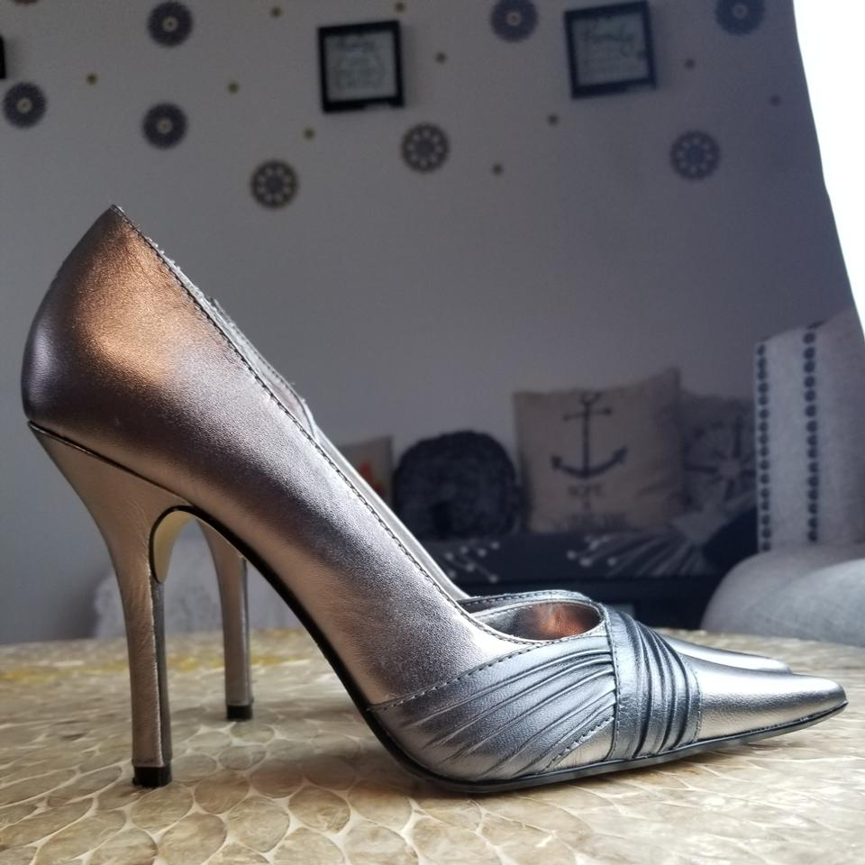 4ec9ad21e5 Baker Gray Metallic Formal Shoes Size US 7 Regular (M