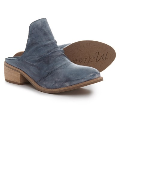 Item - Sky Augustine Ruched High Leather Vamp Bootie Style New Mules/Slides Size US 7.5 Regular (M, B)