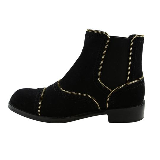 Louis Vuitton Lv Suede Fashion Made In Italy Black Boots Image 3