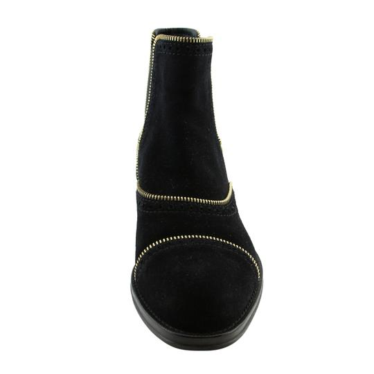 Louis Vuitton Lv Suede Fashion Made In Italy Black Boots Image 4