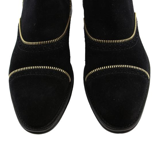 Louis Vuitton Lv Suede Fashion Made In Italy Black Boots Image 5