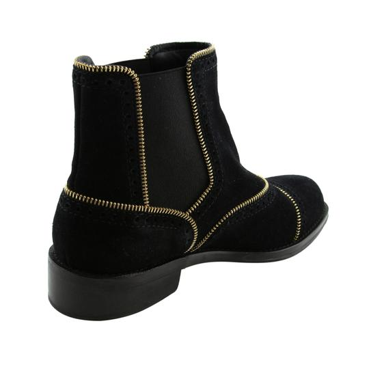 Louis Vuitton Lv Suede Fashion Made In Italy Black Boots Image 6