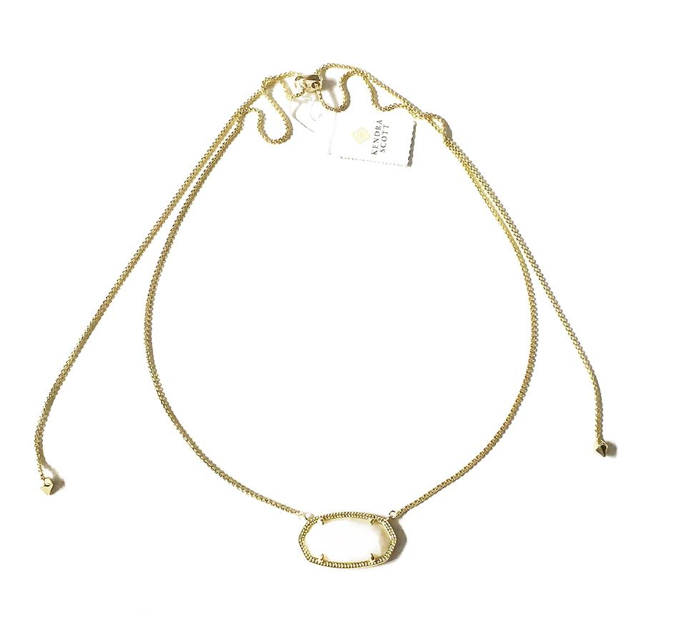 0a57cf634d185 Kendra Scott Gold Delaney White Pearl Necklace 24% off retail