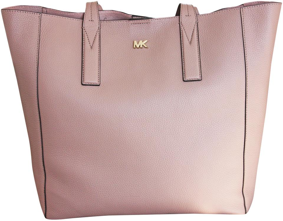 62d716a225e03c Michael Kors Lightweight Light Color Pebble Leather Tote in fawn Image 0 ...