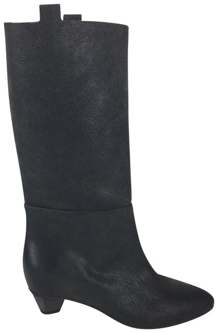 Item - Brown Leather Mid Calf Boots/Booties Size EU 36 (Approx. US 6) Regular (M, B)