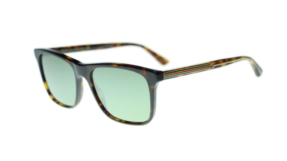 36e53387f81 Gucci 008 Men s Gg0381s Havana Green Fashion Square Sunglasses - Tradesy